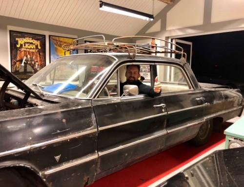 Teaser – Jönssonligan-bilen