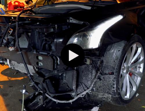 Steven Järudds nya bilbygge – Ett krockat kraftpaket