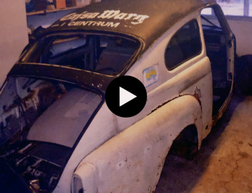 Grus-Kalles rallybil hittad undangömd i lada