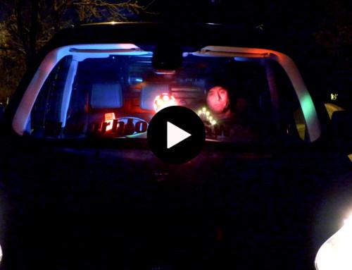 Polisen informerar om belysning i fordon.