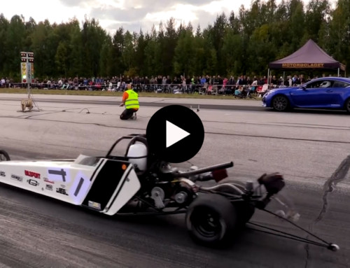 Junior Dragster med Sundqvist Bros