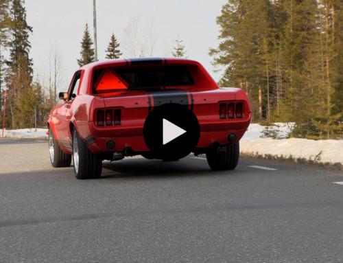 Mustang V8 A-traktorn till Elmia