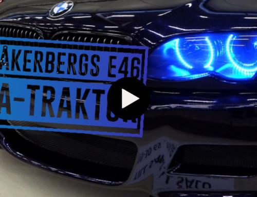 Åkerbergs BMW E46 A-traktorbygge