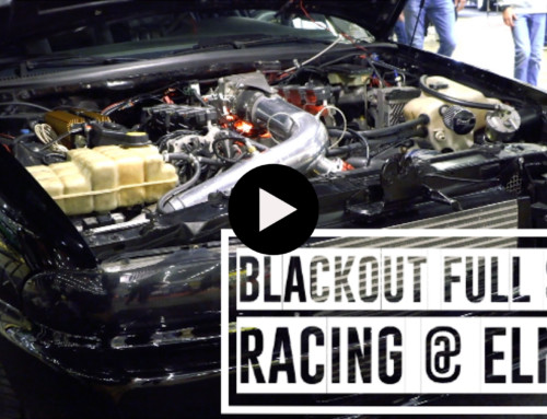 BLACKOUT Full Size Racing @ Elmia