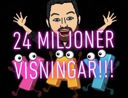 24 miljoner visningar!