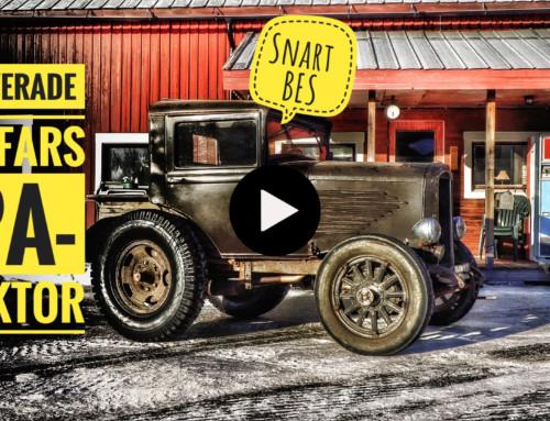 Renoverade morfars EPA-traktor
