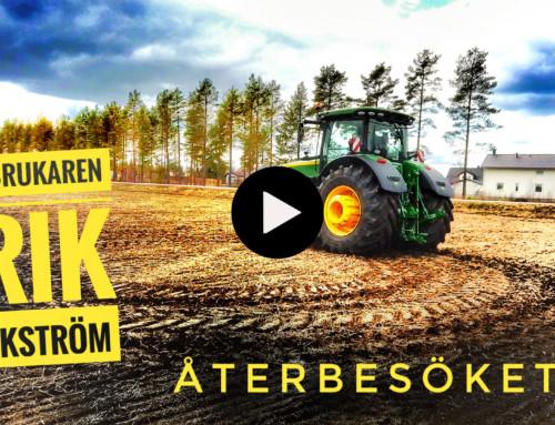 Lantbrukaren Erik Bäckström återbesöket