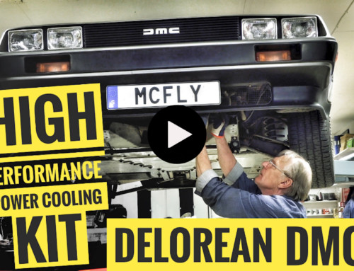 DeLorean High Performance Power Cooling Kit